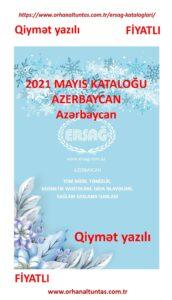Mayıs 2021 Azerbaycan Kataloğu Fiyatlı